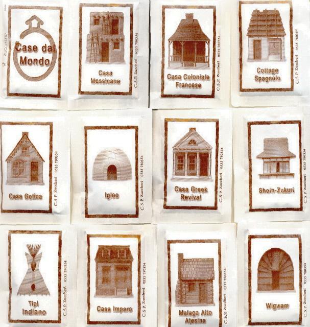 2006 bustine di zucchero novita 39 for Tipi di schierandosi per le case